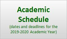 Link to Academic Schedule